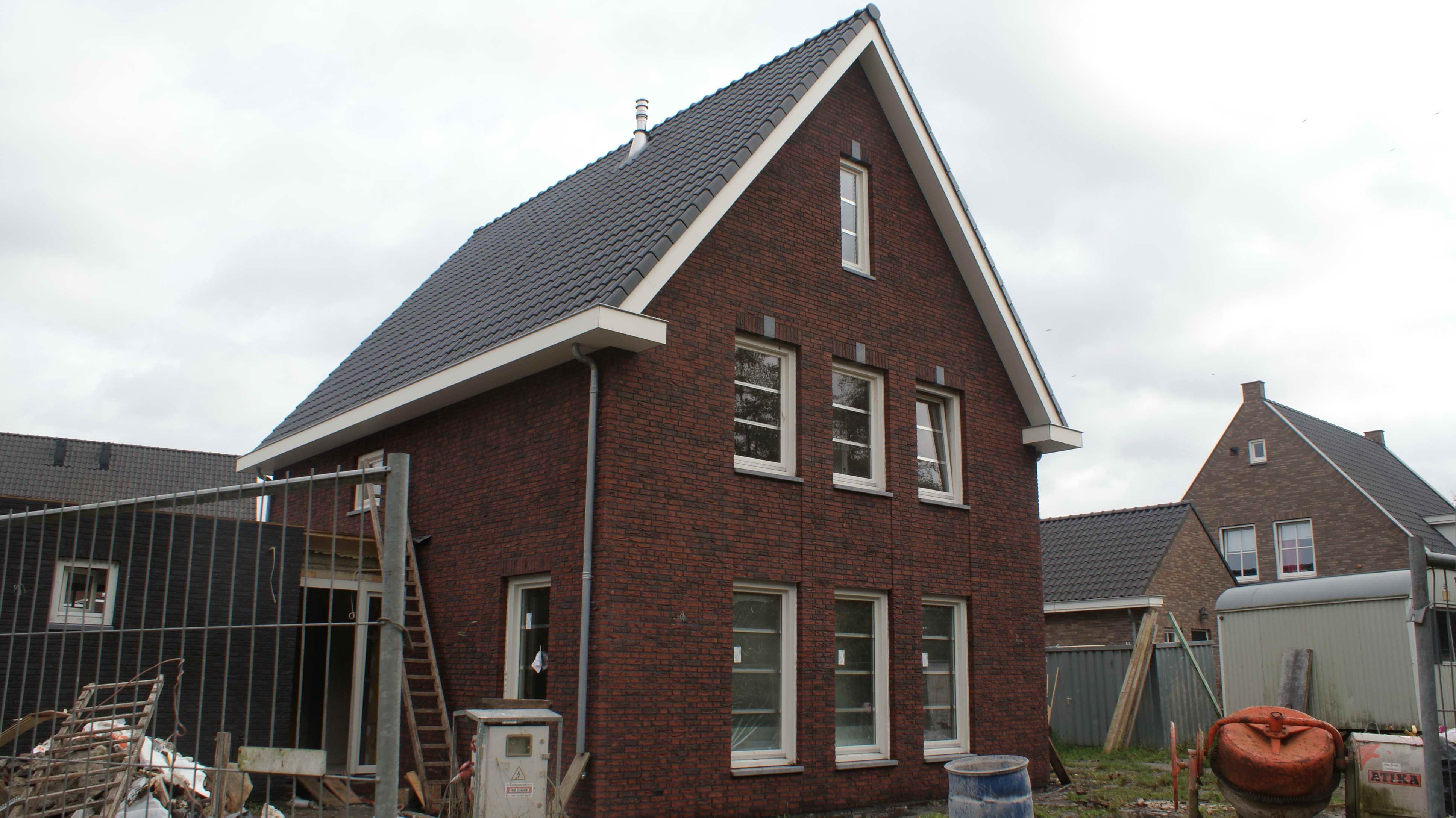 Opgeleverd vrijstaande nieuwbouw woning te asten for Nieuwbouw vrijstaande woning