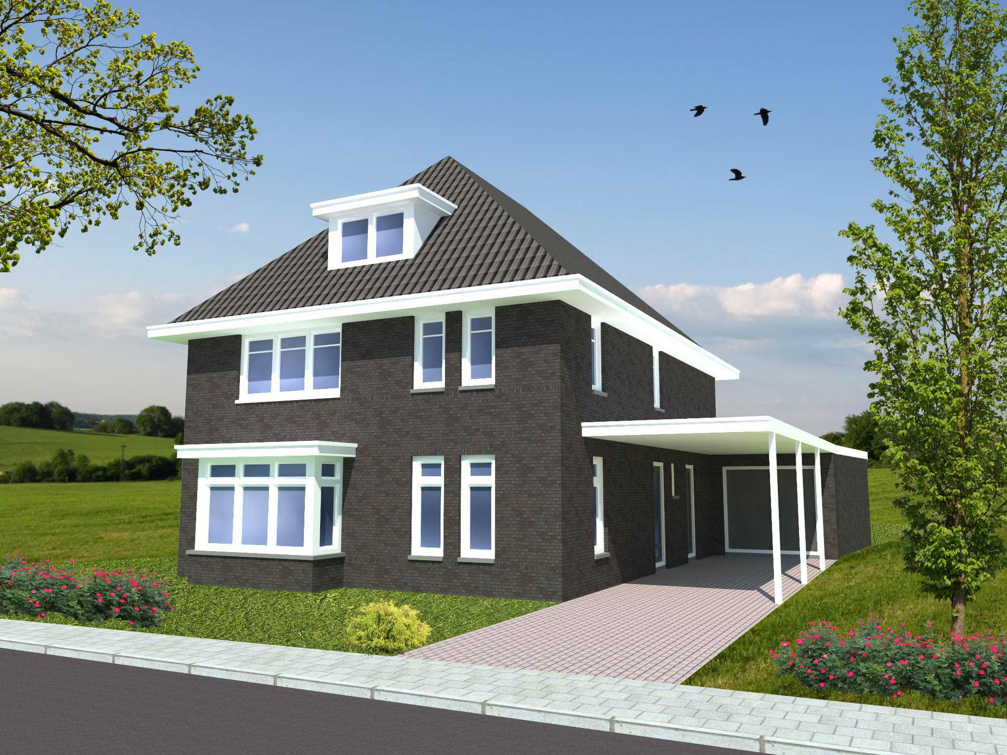 Nieuwbouw vrijstaande woning te oostrum for Prijzen nieuwbouw vrijstaande woning