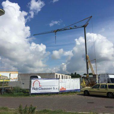 Nieuwbouw 4 woningen te Siebengewald: wanden begane grond gereed