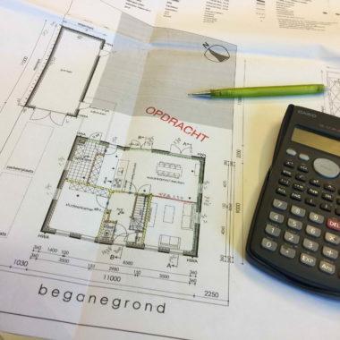 Nieuwe opdracht in onze orderportefeuille: vrijstaande nieuwbouw woning te Stiphout